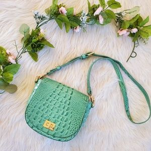 Brahmin Teal Mini Sonny Bag